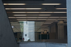 2018-08-FL-194660 (acme london) Tags: 1980 architecture atlanta brutalist concrete fultonlibrary georgia insituconcrete interior library marcelbreuer shelving us