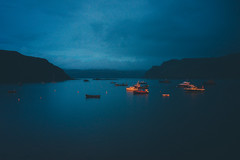 Portree (Matthieu Robinet) Tags: a72 alpha folk glen highlands landscape loch outdoor outlander roadtrip scotland somewhere sonya7ii travel uk wanderlust winter winterscape portree portrigh night ships harbour fishing dawn dusk bluehour seascape dreamy escape quiet calmsea ocean fjord fjordlake points picoftheday warmth coldevening blues afterstorm cloudy orange contrast imaginary nightlife lifestyle mountains citylights