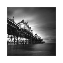 Seaview (Lindi m) Tags: square eastbourne longexposure pier east sussex eastsussex sea coastal seaside blackwhite victorian renovated