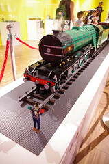 IMGP3089 (Steve Guess) Tags: winchester museum lego display 4472 flying scotsman pullman coaches railway train loco locomotive engine steam novium model chichester west sussex england gb uk