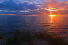 Shine like the star you're born to be (melliottohaire) Tags: lakemichigan northbeach grandhaven