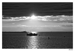Summer silhouette (Aljaž Anžič Tuna) Tags: silhouette summer sea seaside boat sun clouds photo365 project365 panorama onephotoaday onceaday 365 35mm 365challenge 365project nikond800 nikkor nice naturallight nature nikon nikon105mmf28 105mmf28 f28 d800 dailyphoto day dark light bw blackandwhite black white blackwhite beautiful