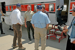 USDA Secretary Perdue and Department of Interior Secretary Zinke Joint Site Visit to Carr and Hirz Wildfire (Forest Service, USDA) Tags: wildfire carr hirz shastatrinity redding sonnyperdue ryanzinke usda departmentofinterior forestservice nationalparkservice bureauoflandmanagment douglamalfa tedgaines northernfireoperations smokejumpers press media smoke sierrapacific helicopter