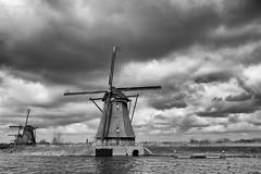 Steady State (Jeremy Brooks) Tags: bw blackwhite blackandwhite holland kinderdijk netherlands netherlandsbelgium2018 silverefexpro camera:make=fuji camera:make=fujifilm camera:model=xpro2 windmill