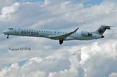 Canadair CRJ-705 C-GOJZ Air Canada Express (EI-DTG) Tags: yul montrealpierreelliotttrudeauairport montreal quebec 18sep2016 planespotting aircraftspotting regionalairliners cgojz crj crj700 aircanada aircanadaexpress