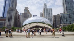 Cloud Gate SLOG2 (Michael.Lee.Pics.NYC) Tags: chicago cloudgate thebean millenniumpark timelapse video slog2 architecture cityscape sony a7rm2 voigtlanderheliar15mmf45