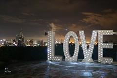 高雄忠烈祠夜景:LOVE地標 (acyuntw) Tags: 台灣 高雄 忠烈祠 夜景 觀景台 landscape view scenery night taiwan kaohsiung 情侶