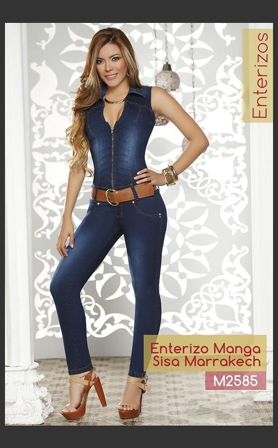 01a3591981 Enterizos Jeans Push Up M2585 (magicolafashion2018) Tags  jeans colombianos  levanta cola levantacola ropa