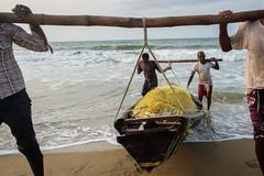 Fishermen (SaumalyaGhosh.com) Tags: fishermen people color india sea beach boat fuji fujifilm xt2 water street streetphotography colour
