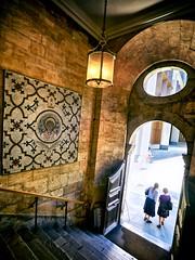 st stephen walbrook (khrawlings) Tags: st stephen walbrook city london church listed grade1 mosaic lantern oval door steps entrance couple