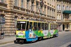 Tatra KT4SU-1047, Lviv, 2018/05/20. (lg-trains) Tags: lviv uk ukraine ukrainian trams tramways