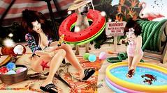 POST ★☆ 1K246 ★☆ (♕ Xaveco Mania - Jhess Yoshida ♕) Tags: besom osmia ksposes littlefriend barberyumyum pose yourdreams lagom peaches shinyshabby secondlifephotography secondlifeblog secondlife beach cute kid girl thearcade kidsevent