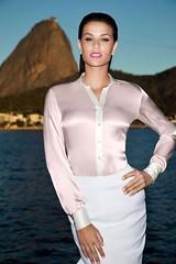 Blouse (Ten Million Smurfs) Tags: blouse blousefetish sexy shirt satin