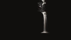 Waterfall.minimalism (Rene Wieland) Tags: waterfall wasserfall bali longexposure blackandwhite schwarzundweiss nature natur hiking landschaft landscape