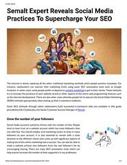 Semalt Expert Reveals Social Media Practices To Supercharge Your SEO (unkautomobile) Tags: semalt seo marketing tips