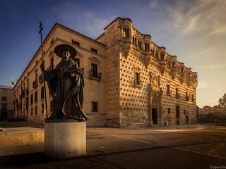 Palacio del Duque del Infantado y Monumento al Cardenal Mendoza. Guadalajara.