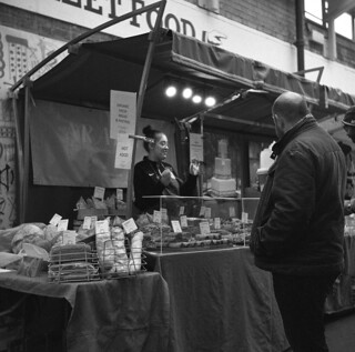 Greenwich Market, London. Film 90(2)