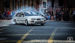 Sierra Cosworth (2) (sidrog28) Tags: car show carshow ne1 tvr toyota sigma supra sierra cosworth merc gts mclaren p1 hellcat hemi gtr skyline evo 10 aston martin vanquish