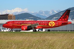 Brussels Airlines (Red Devils Livery). OO-SNA. Airbus A320-214. SN2720. GVA. (Themarcogoon49) Tags: airbus a320 aircraft planespotting gva lsgg cointrin airport switzerland avgeek