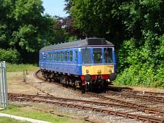 121020 Bodmin Parkway (1) (Marky7890) Tags: 121020 class121 dmu heritage bodminparkway bodminwenfordrailway cornwall train