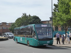 Trent Barton 828 YD63 VCV on H1, Corporation St, Derby (1) (sambuses) Tags: trentbarton heanorsh1 yd63vcv 828