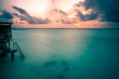 The Sunset - Maldives - Seascape photography