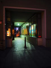 Lutherstadt Wittenberg (Meg Kamiya) Tags: wittenberg germany deutschland olympus omd em10 night light colour city