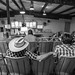 Farmers at livestock auction