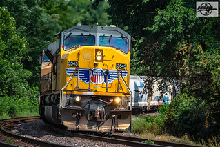 Westbound UP Auto Train at Independence, MO