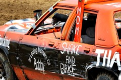 Shake and Bake (Laurence's Pictures) Tags: boone county fair belvidere illinois state show animal politican tractor 2018 demolision demolition derby cars race auto automobile america crash junk racing nascar em up