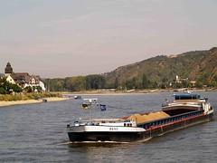 Bend in the River (saxonfenken) Tags: 3011rhine 3011 shipriverboat transport river rhine germany riverbend ship riverboat