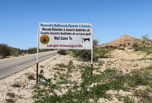 Entrance to Las Geel