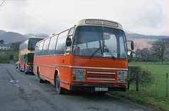 Lakeland Leopard (Renown) Tags: bus coach singledecker leyland leopard plaxton supreme kad345v supremeiv blackwhite lakeland cumberland cumbria lakedistrict