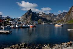 Hamnøy, Lofoten (e-box 65) Tags: lofoten lofotislands norway island norge harbour ship mountain sea d7200 18 105 hamnøy reine moskenes e10 nordland nationaltouristroute