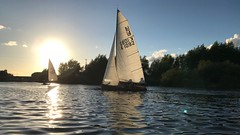 (Sam Tait) Tags: canoe open british river trent adventure england boat boating boats sail sailing dinghy club