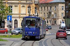 Tatra KT4D-1174, Lviv, 2018/05/20. (lg-trains) Tags: lviv uk ukraine ukrainian trams tramways