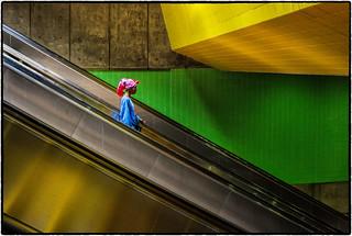 Riding the LA Metro