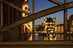 Speicherstadt, Hamburg (nickcoates74) Tags: a6300 ilce6300 sony germany speicherstadt hamburg deutschland hollaendischbrookfleet wasserschlosschen poggenmuehlenbruecke poggenmühlenbrücke water wasser