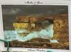 Postcard showing what the Azure Window looked like (Alaskan Dude) Tags: valletta malta mt travel europe gozo dwejra azurewindow inlandsea landscape nature scenery coastline iphone iphone6photo