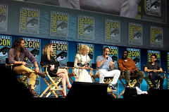 Jason Momoa, Amber Heard, Nicole Kidman, Patrick Wilson, Yahya Abdul-Mateen II & James Wan (Gage Skidmore) Tags: jason momoa amber heard nicole kidman patrick wilson yahya abdul mateen ii james wan aquaman san diego comic con international 2018 convention center california