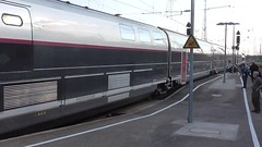 SNCF Train Pulling Out (en tee gee) Tags: karlsruhe station sncf train tgv electric