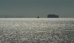on the way to phi phi (meren34) Tags: phiphi thailand andaman sea travel silver water sun ısland phuket