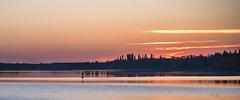 Evening Paddle (L E Dye) Tags: astotinlake elkislandpark 2018 alberta canada ledye nikon sunset d750
