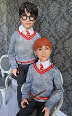 Harry and Ron (Foxy Belle) Tags: harry potter doll mattel 2018 skipper young uniform school