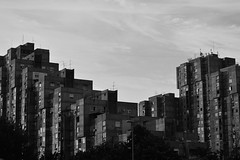 62 b and w (emina.knezevic) Tags: sky building city architecture cityphotography urbanphotography streetphotography blackandwhite blackandwhitephotography newbelgrade novibeograd beograd blegrade blok62 neighbourhood nikon nikond3200 nikonphotographer