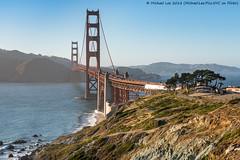 Golden Gate Overlook (20180629-DSC00310) (Michael.Lee.Pics.NYC) Tags: sanfrancisco california presidio goldengatebridge pacificocean marinheadlands aerial cliff bridge overlook sony a7rm2 fe24105mmf4g