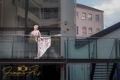 Urban ballet dancer (femmaryann) Tags: ballet dance dancer urban birmingham architecture transparent dreams imaginings city