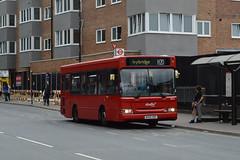 Abellio London 8024 (BU05HDY) on Route H20 (hassaanhc) Tags: abellio alexander dennis adl