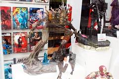 Groot Sculpture (Assaf Shtilman) Tags: forbidden planet groot sculpture figurine window shop