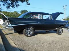 1957 Chevy 210 (splattergraphics) Tags: 1957 chevy 210 chevy210 gasser customcar cruisenight lostinthe50s marleystationmall glenburniemd